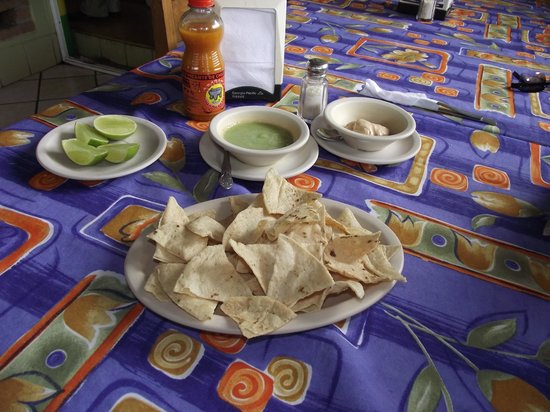 Restaurant La Casita: FRESH SERVED BEFORE EVERY MEAL