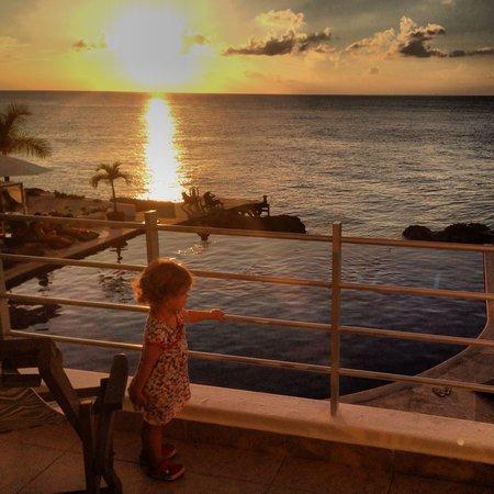 Hotel B Cozumel: Por do sol