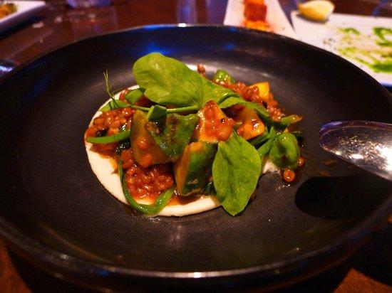 Mercat a la Planxa: Catalan spinach