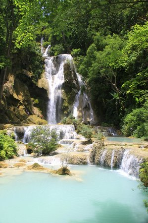 Villa Chitdara: Kuang Si Falls—the hotel can arrange transportation
