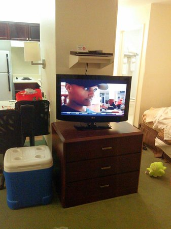 Extended Stay America - Dallas - Las Colinas - Green Park Dr.: Flat screen tv
