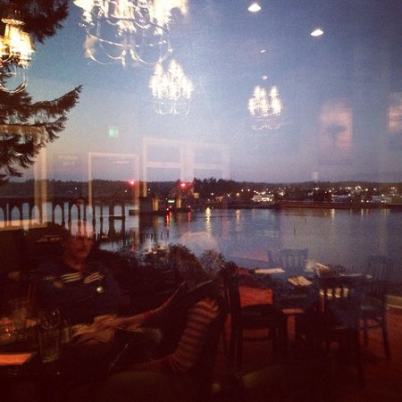 Bay View Bistro: Awesome view