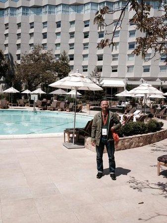 Sheraton Santiago Hotel and Convention Center: piscina hotel sheraton santiago