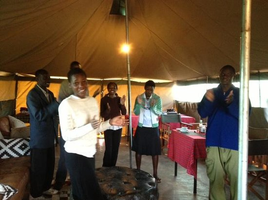 Kilima Valley Serengeti Tented Lodge: departure song