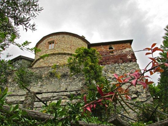 Castello Brown: View of turret