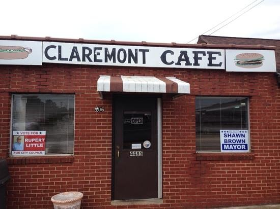 Claremont Cafe: Front View