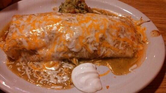 Taco Mexico Restaurant: voted best burrito in Bigfork in 2012 and I can see why.
