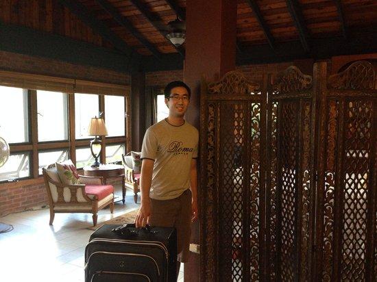 Rainforest Inn: Just arrived at the villa!