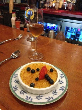 Colterra Food & Wine: Vanilla Bean Crème Brûlée