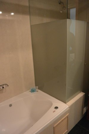 Room 503 bathroom (shower next to tub) - Picture of Ros Tower Hotel ...
