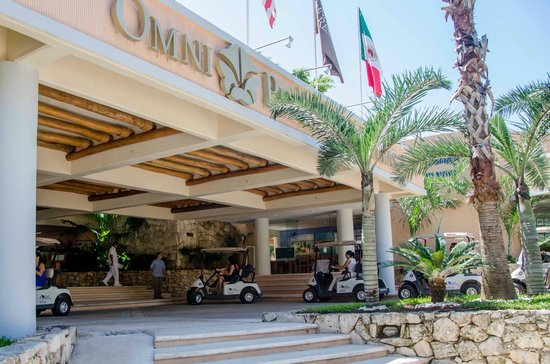Omni Puerto Aventuras Beach Resort: Hotel  Entrance