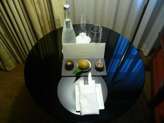 Sofitel Washington DC: Welcome gift