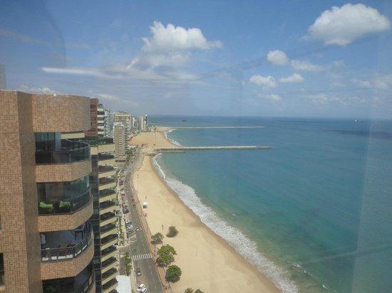 Quality Hotel Fortaleza : Visão do terraço do hotel