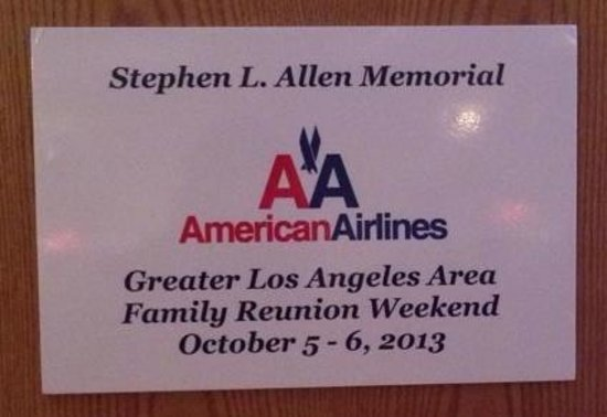 Four Points by Sheraton Los Angeles International Airport: AA LA Reunion 1