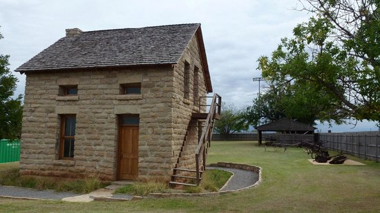 Museum of the Western Prairie: ranch building