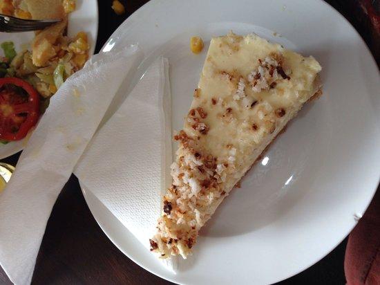 Caffee ONE: Coconut cheesecake