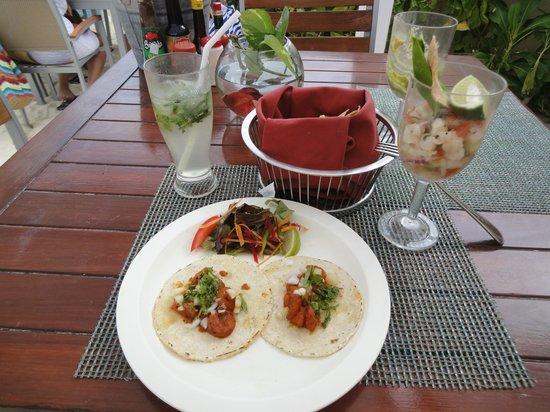 Live Aqua Beach Resort Cancun: Sea Corner Tacos