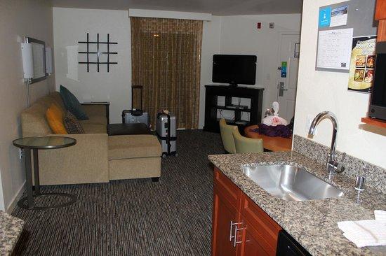 Hyatt House Pleasanton: キッチンもあるので家族には便利です
