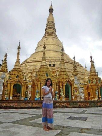 Pagode Shwedagon : Me&Shwedagon Pagoda