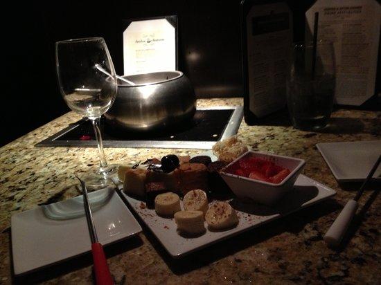 The Melting Pot: Dessert, our FAVORITE :)