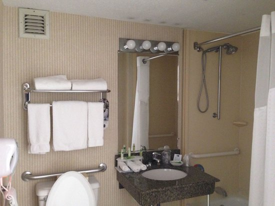 Holiday Inn Express Poughkeepsie: Clean Bathroom