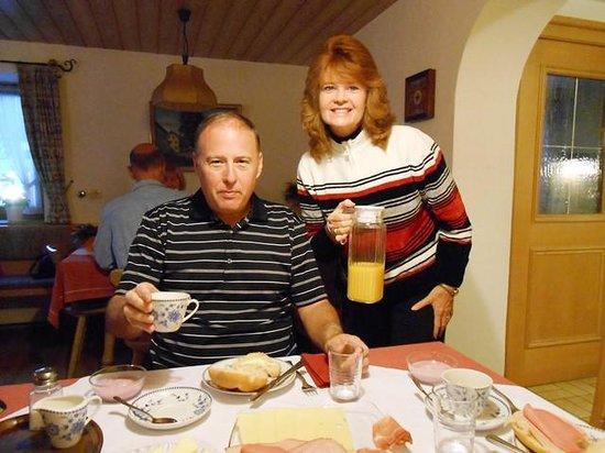 Gaestehaus Gerold : Breakfast is great!