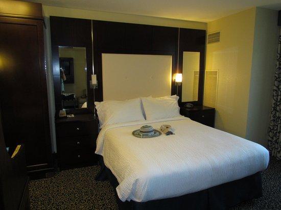 Residence Inn San Diego Downtown/Gaslamp Quarter: Comfy bed
