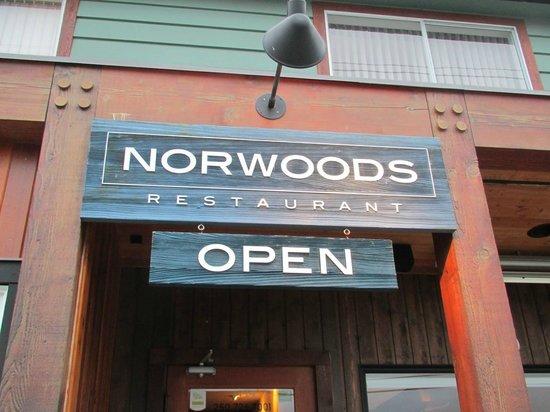 Norwoods Restaurant: TN3