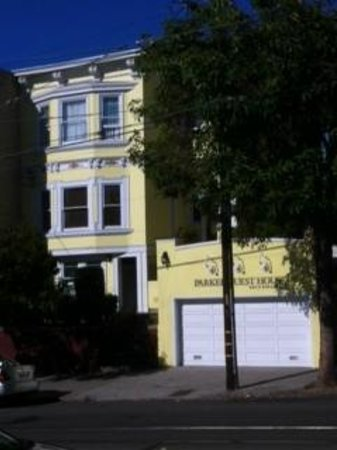 Parker Guest House: The exterior