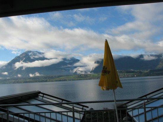 Hotel Ristorante Stella del Lago: Blick vom Terrassenzimmer