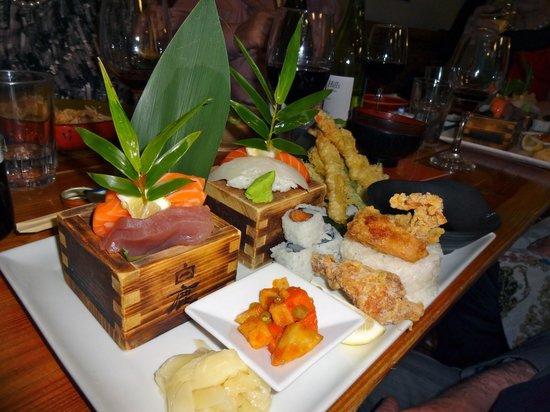 Kyo-Ya Japanese Restaurant: Dinner Box meal