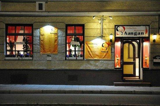 Restaurant Aangan: Front view