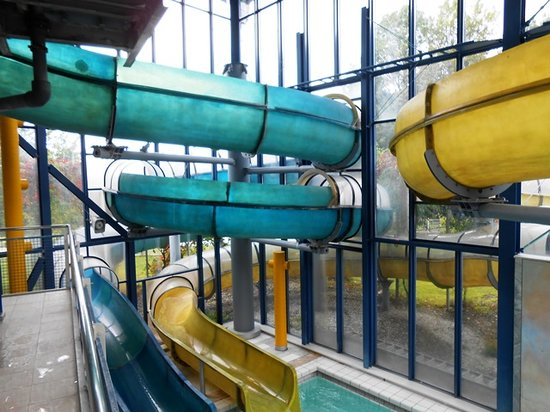 Wellenberg : Water slides!
