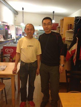 Tham Chinese Restaurant: Mr. Tham and me