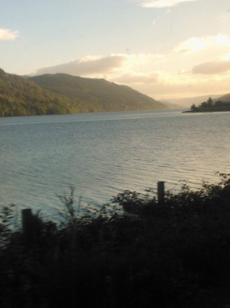 Muthu Alexandra Hotel: A loch from the bus