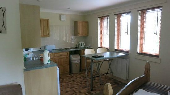 Glasgow Guest House : Kitchen in the flat