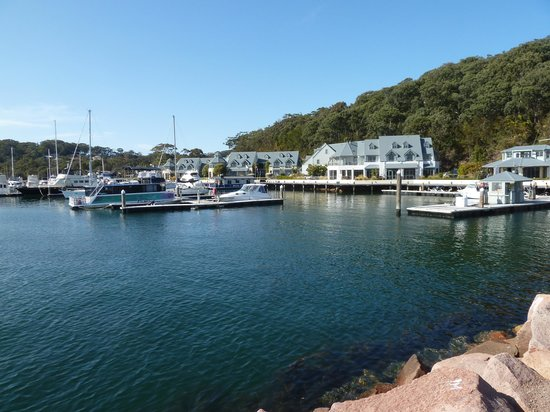 Anchorage Port Stephens: View of The Anchorage from the sea wall