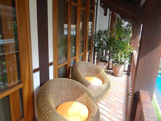 Le Sen Boutique Hotel: balcony