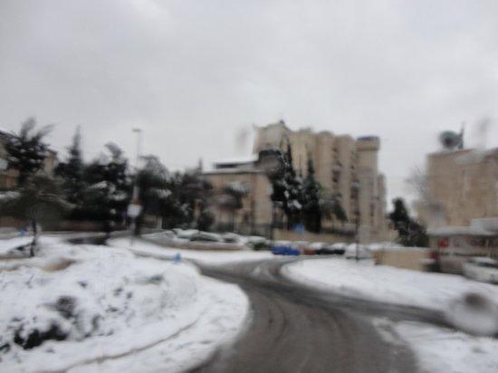 National Hotel Jerusalem: Иерусалим зима 2013 года