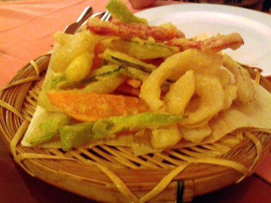 Restaurante Seoul: Tempura