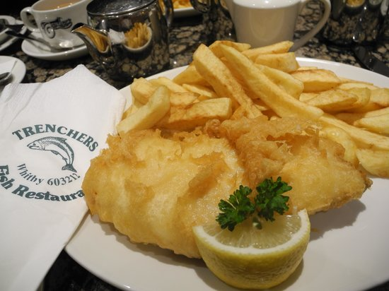 Trenchers: My Haddock and chips