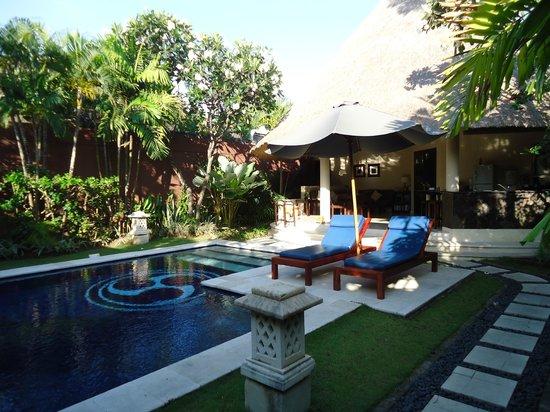 The Dusun : View entering Villa 14