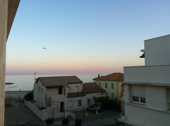 La Plage Du Gedeon : view from the lateral room