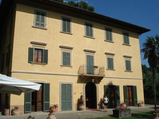 Casa Volpi: Südseite: Eingang, Zimmer in der 1. und 2. Etage