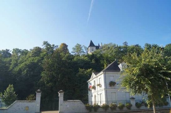 Le Prieure: Vue du Priuré des berges de la Loire