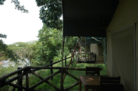 Fairmont Mara Safari Club : tenda