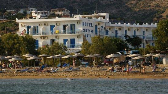 Batsi, Greece: Hotel Exterior View