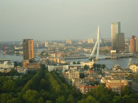 Euromast Tower: Great Restaurant View