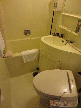 Hotel Taira: 5 ツイン部屋 バス・ルーム