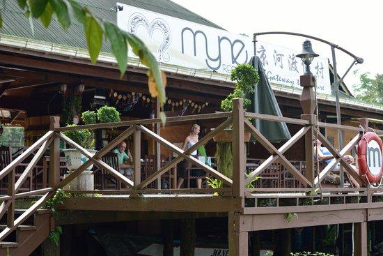 Myne Resort: balkon